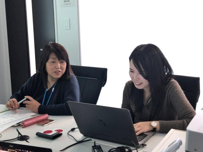 福井代表と佐々木さんの写真